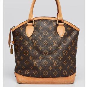 Louis Vuitton Monogram Canvas Lockit PM Bag